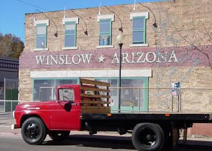 Winslow Greeting Card featuring the photograph Winslow by Steve Mudge