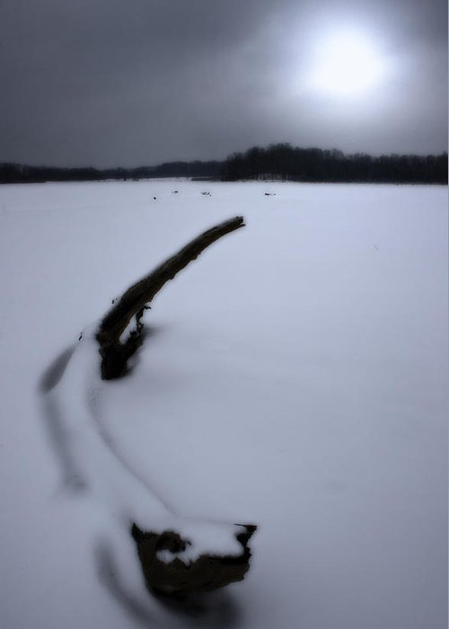Winter Greeting Card featuring the photograph Winter Moonrise by Kenneth Krolikowski