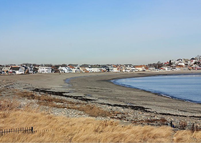 Water Greeting Card featuring the photograph Winthrop Ma by Becca Brann