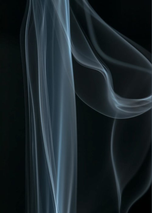 Smoke Greeting Card featuring the photograph Wisps Of Surrender by Maggie Terlecki