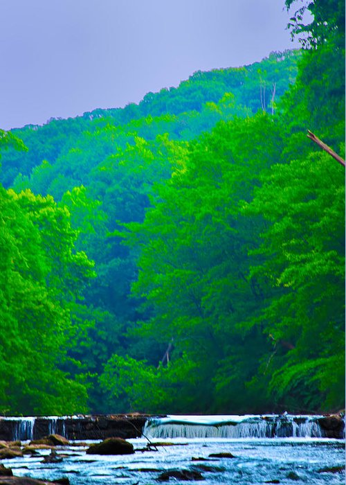Philadelphia Greeting Card featuring the photograph Wissahickon Creek by Bill Cannon