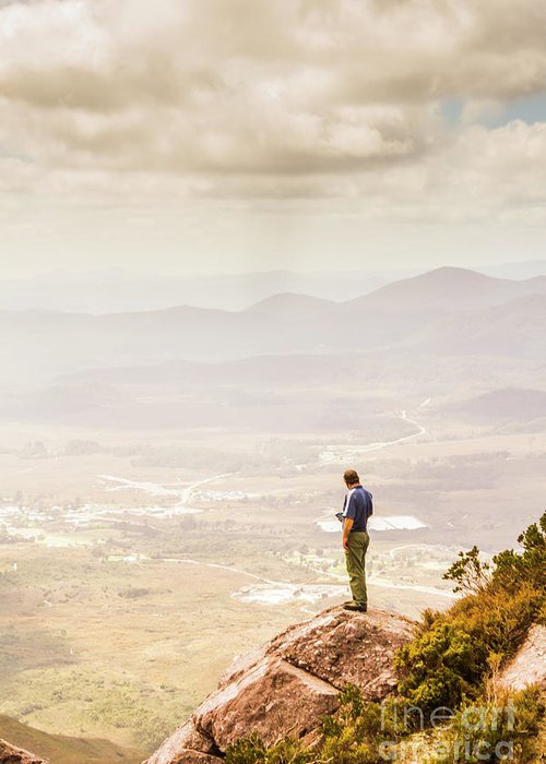 Landscape Greeting Card featuring the photograph Wondrous Western Tasmania by Jorgo Photography - Wall Art Gallery
