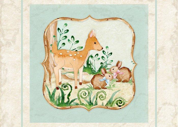 Baby Deer Greeting Cards