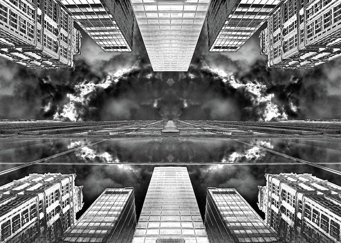 Architecture Greeting Card featuring the photograph Worlds End by Az Jackson