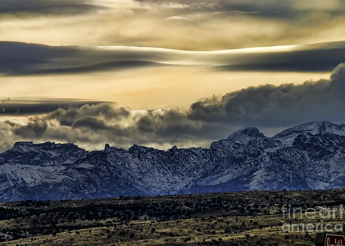 Wyoming Greeting Card featuring the photograph Wyoming II by Chuck Kuhn