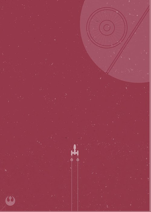 Y Wing Greeting Cards