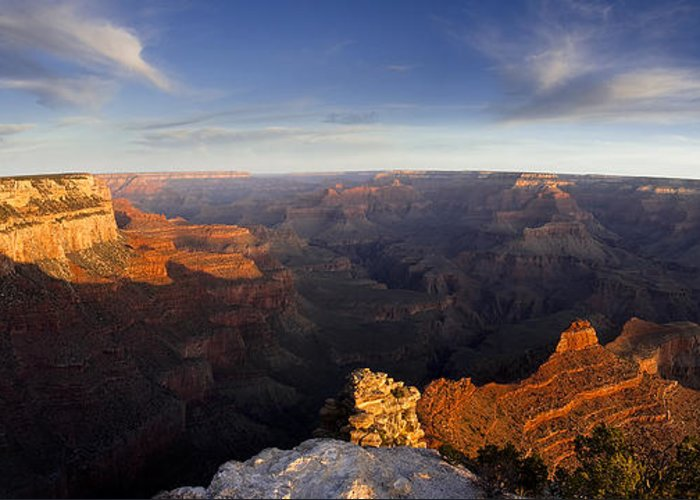 National Park Greeting Card featuring the photograph Yaki Point Panorama by Andrew Soundarajan