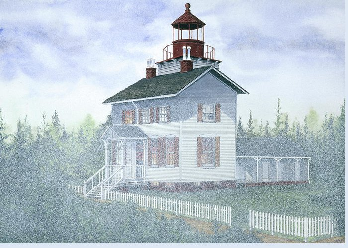 State Parks In Oregon Paintings Greeting Cards