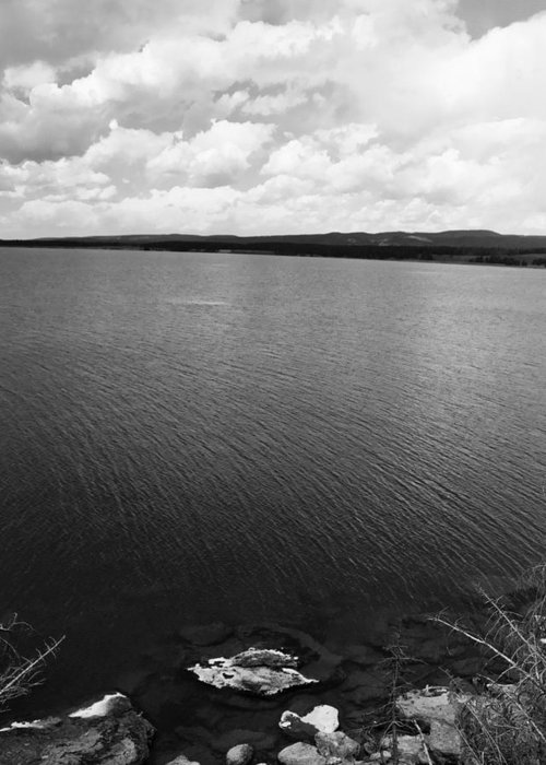 Lake Greeting Card featuring the photograph Yellowstone Lake by Jessica Wakefield