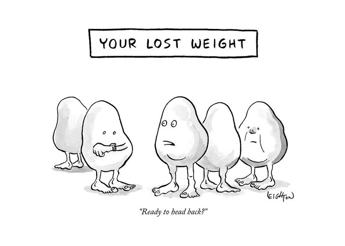 Your lost weight greeting card for sale by robert leighton greeting card featuring the drawing your lost weight by m4hsunfo