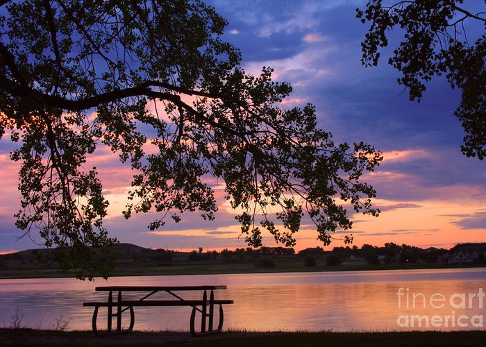 Sunsets Greeting Card featuring the photograph Your Table Is Ready by James BO Insogna