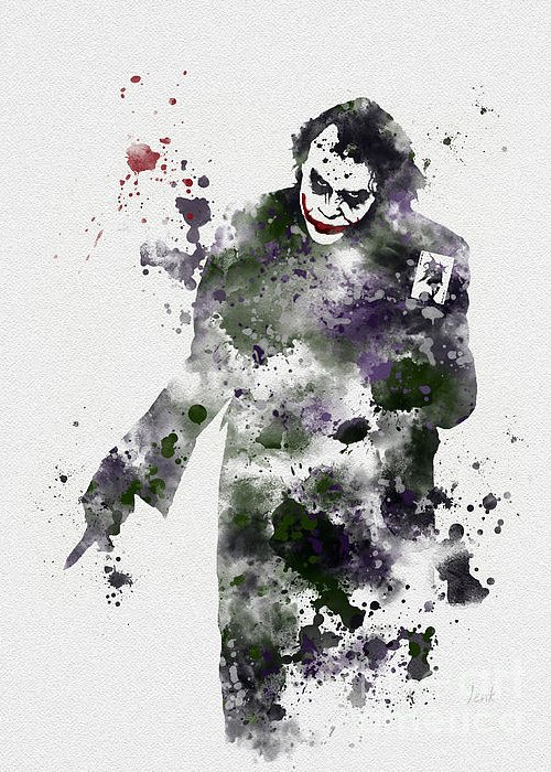 The Joker Greeting Cards