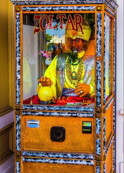 Zoltar Greeting Cards