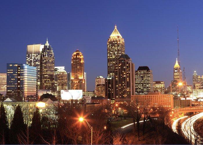Atlanta Greeting Card featuring the photograph Atlanta, Georgia by Jumper