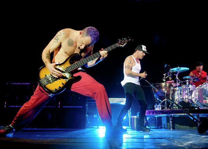 Red Hot Chili Peppers Greeting Cards