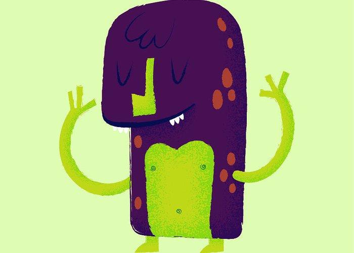 Cartoon Character Greeting Cards