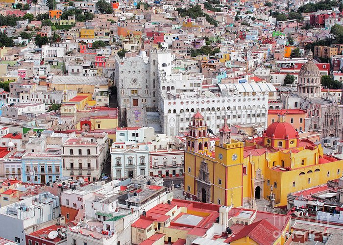 Guanajuato Photographs Greeting Cards