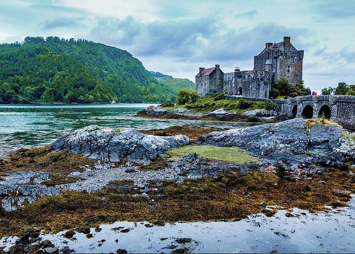 Castle Greeting Card featuring the photograph Eilean Donan Castle by Fabio Gomes Freitas
