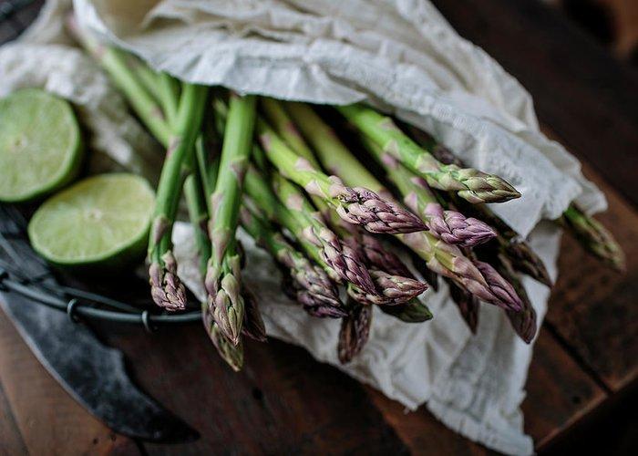 Asparagus Greeting Cards