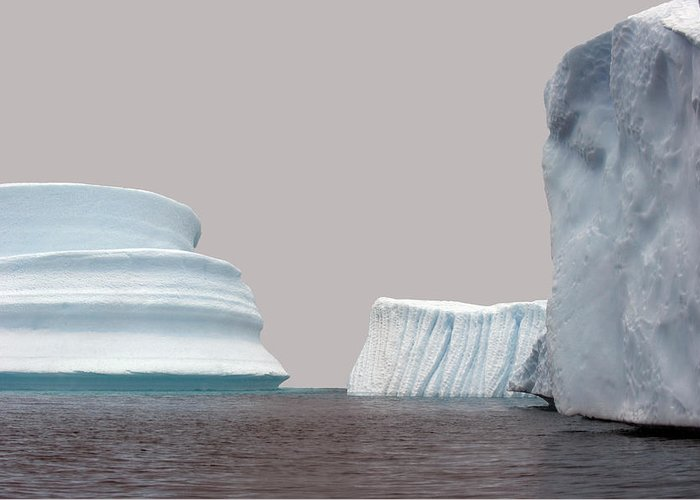 Iceberg Greeting Card featuring the photograph Iceberg by Jim Julien / Design Pics