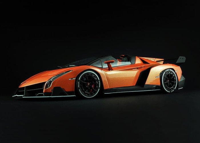 Lamborghini Veneno Roadster Greeting Card For Sale By Evgeny Rivkin