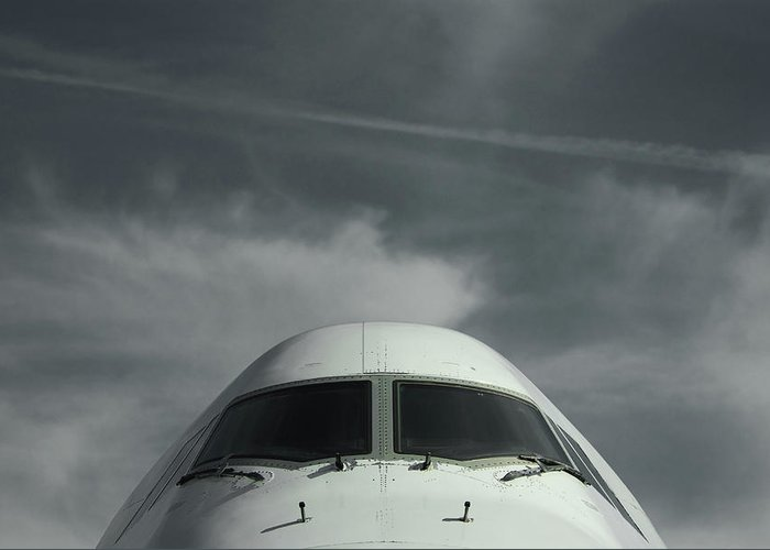 Tranquility Greeting Card featuring the photograph Aircraft by Laurent Chantegros