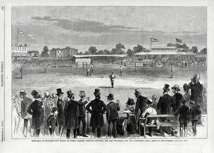 Designs Similar to Baseball Match At Lords