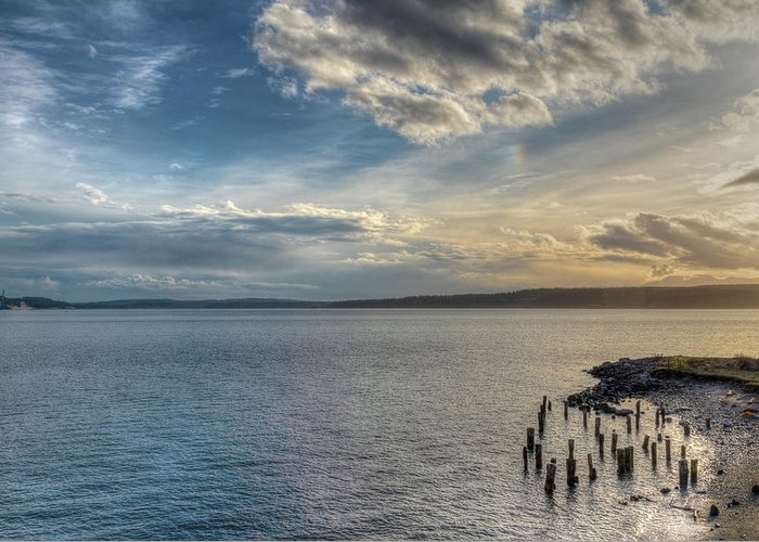 Port Townsend Greeting Card featuring the photograph Beyond Oz by Spencer McDonald