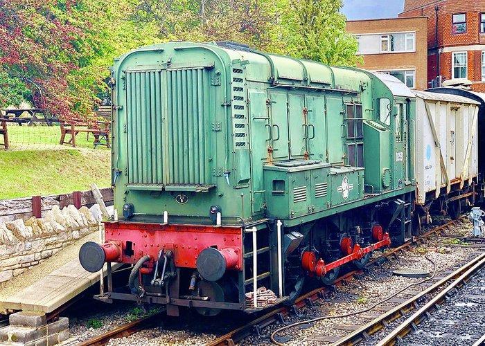Class 08 Shunter T Shirt Gift British Rail Shunting Train