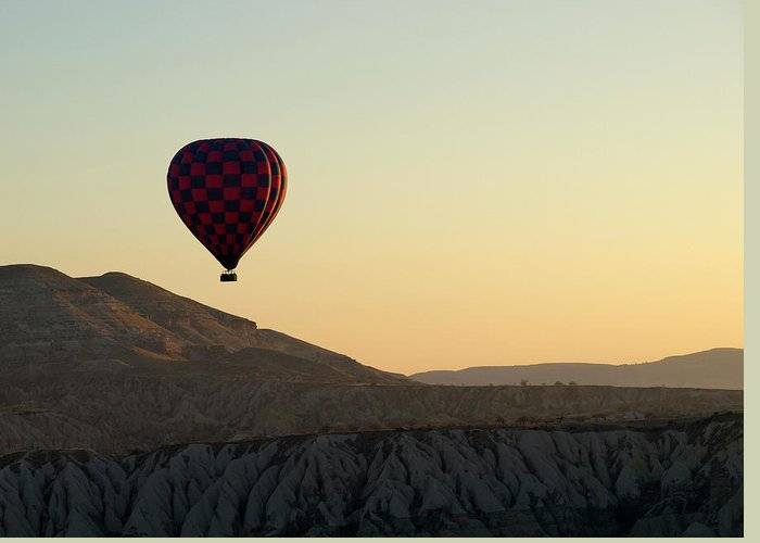 Scenics Greeting Card featuring the photograph Cappadocia Valley by Julian Kaesler