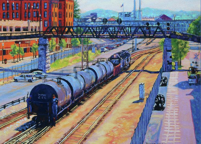 Norfolk Southern Greeting Cards
