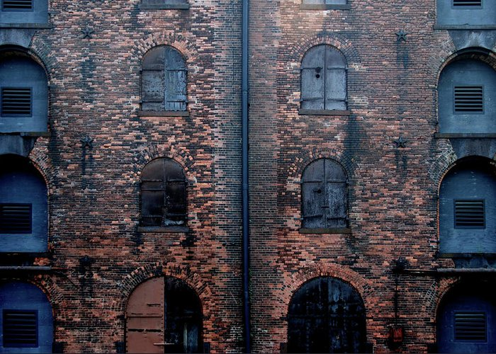 Outdoors Greeting Card featuring the photograph Civil War Era Spice Warehouse by © Rick Elkins