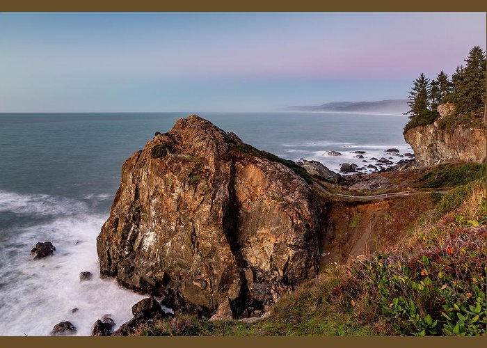 America Greeting Card featuring the photograph Clear Sunset At Wedding Rock by ProPeak Photography