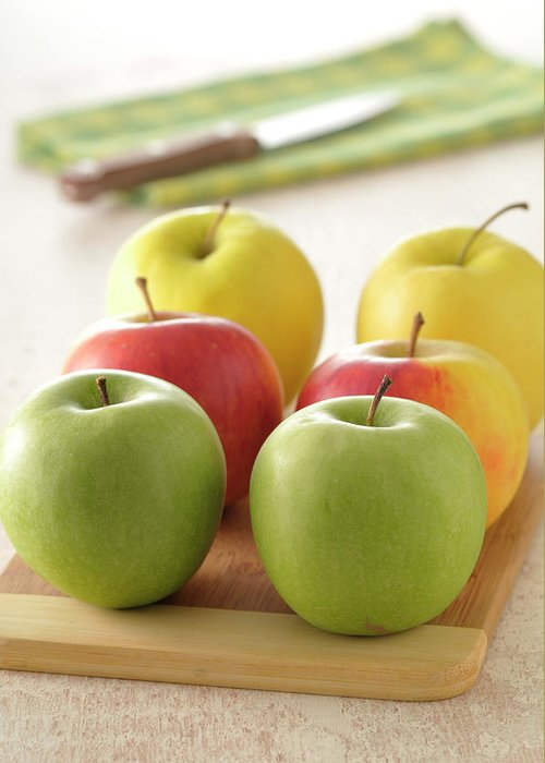 Golden Delicious Greeting Cards