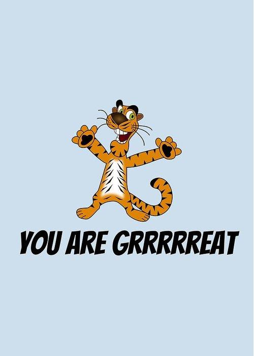 Tiger Greeting Cards