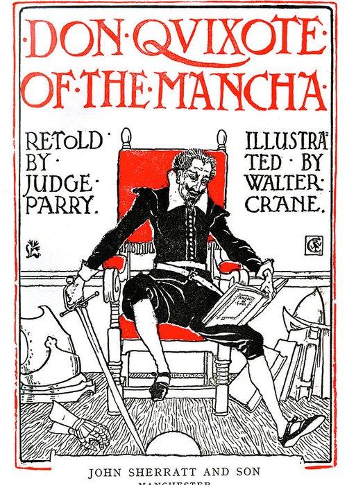 Man Of La Mancha Greeting Cards
