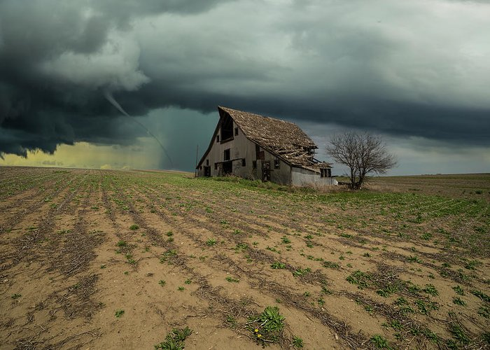 Tornado Greeting Card featuring the photograph Doomsday by Aaron J Groen