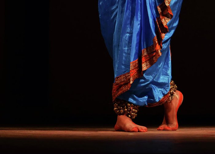 Expertise Greeting Card featuring the photograph Feet - The Soul Of Dance by Avishek Saha