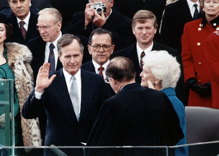 George Bush Greeting Cards