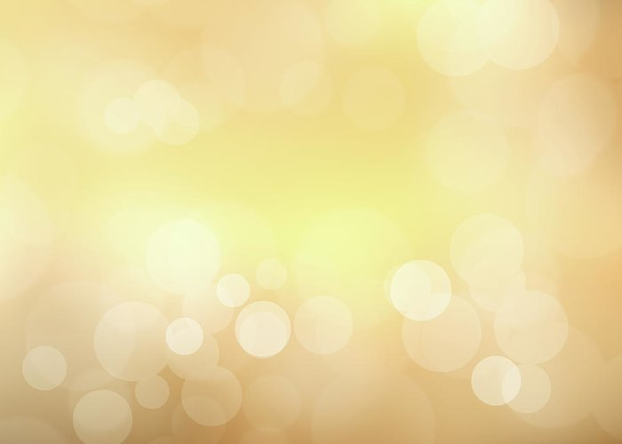 Backdrop Greeting Card featuring the photograph Golden Glitter by Kwaigon