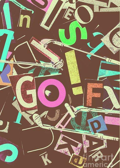 Golfing Greeting Cards