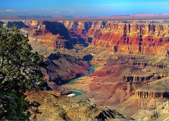 Grand Canyon Greeting Card featuring the photograph Grand Canyon Sunset by Robert Bales