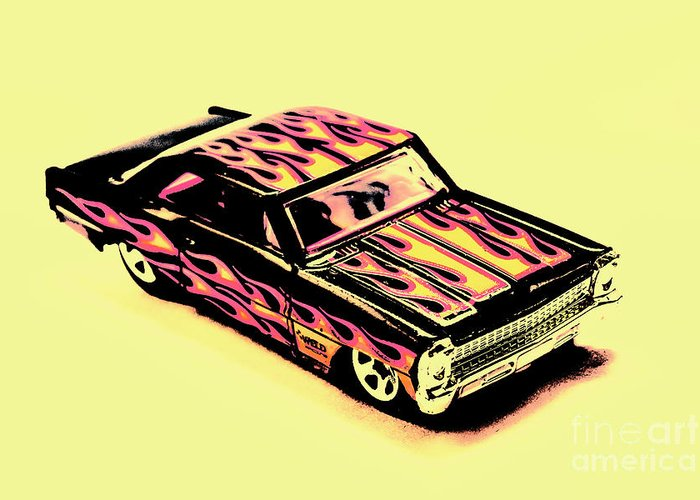 Classic Greeting Card featuring the photograph Hot Wheels by Jorgo Photography - Wall Art Gallery