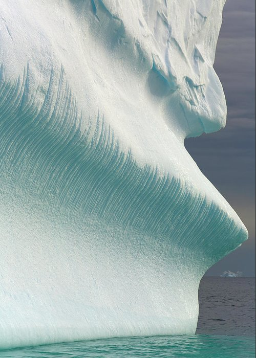 Iceberg Greeting Card featuring the photograph Iceberg, Grandidier Passage, Antarctic by Eastcott Momatiuk