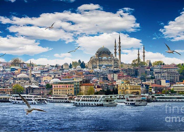 Hagia Sophia Greeting Cards