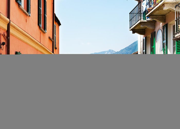 Italian Culture Greeting Card featuring the photograph Italian Village by Tomml