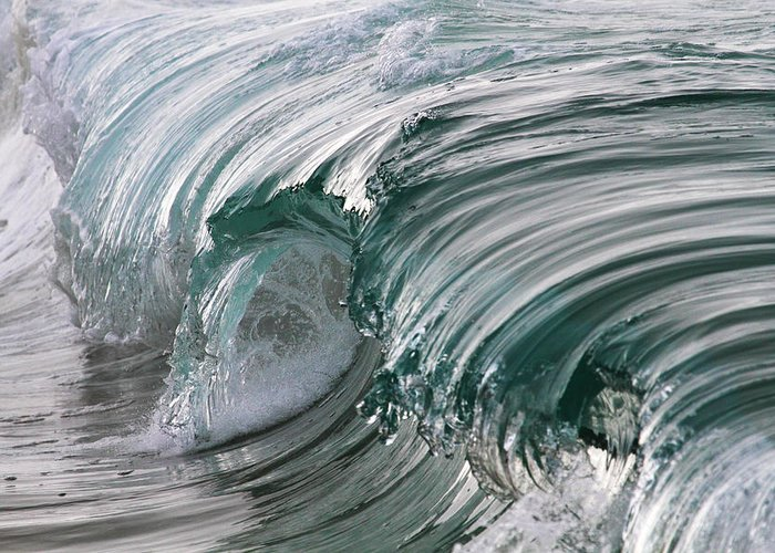 Scenics Greeting Card featuring the photograph Jibbon Wave by Ewen Charlton
