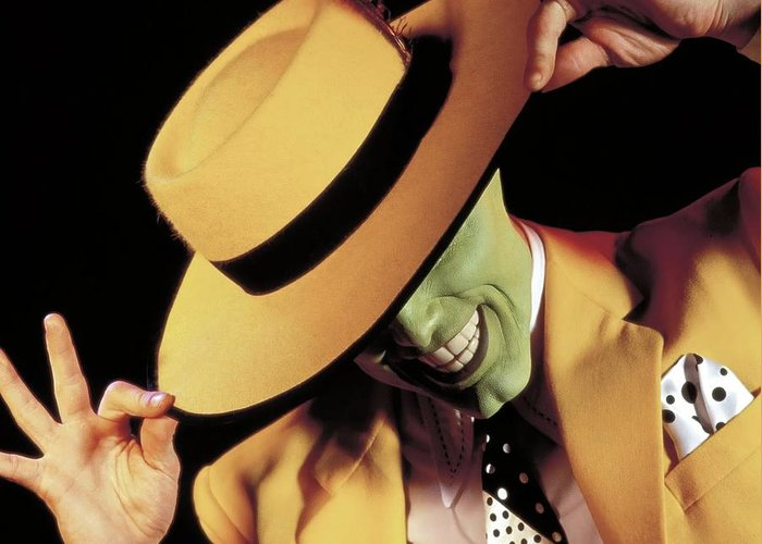 Jim Carrey In The Mask 1994 Photograph By Album