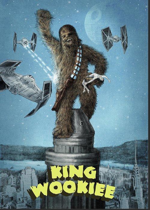 King Kong Greeting Cards