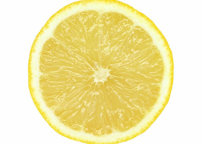 Limon Province Greeting Card featuring the photograph Lemon by Suzifoo